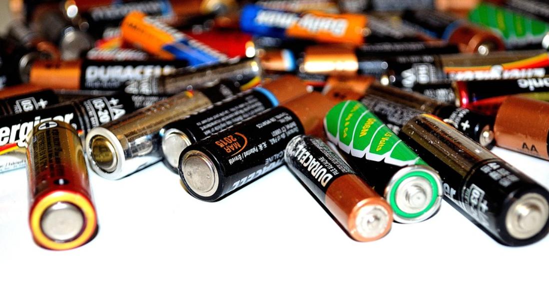 baterie vybité