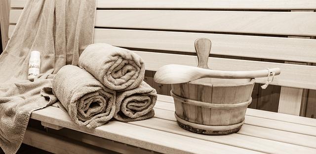 sauna a relaxace