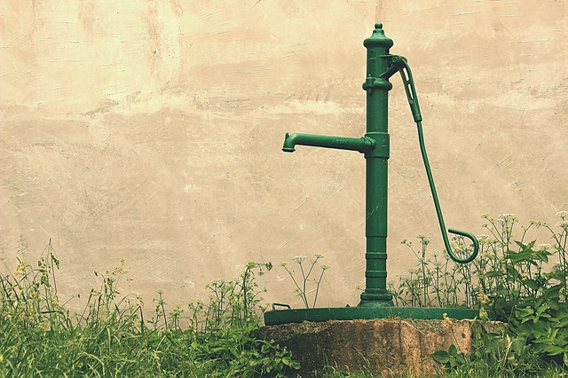 zelená pumpa