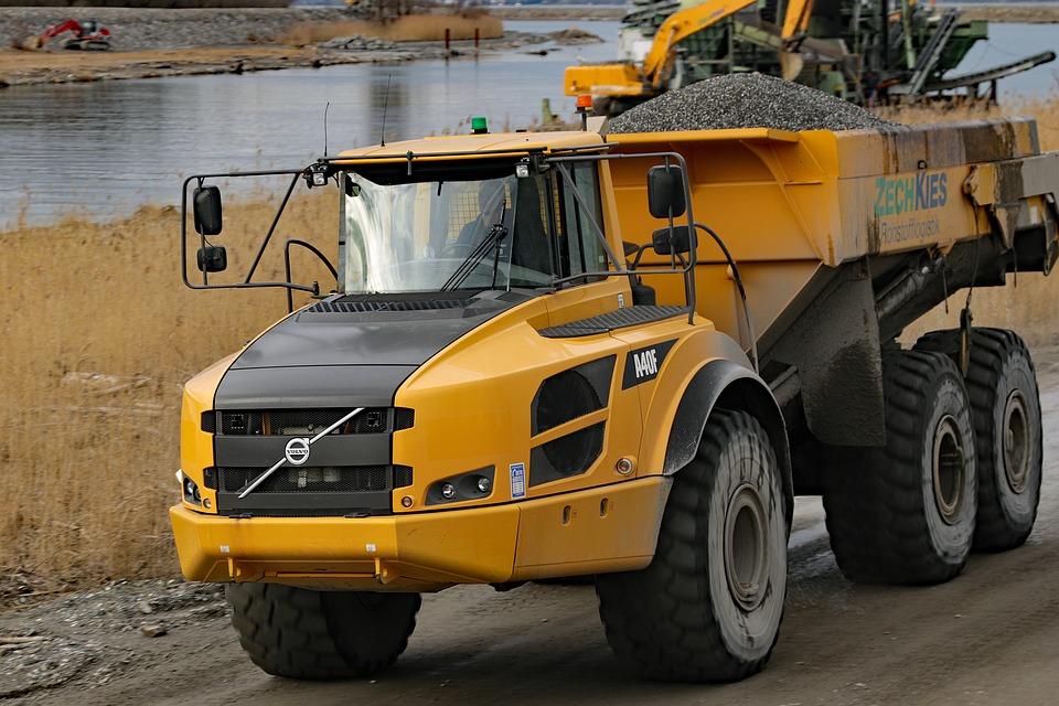 naložené Volvo