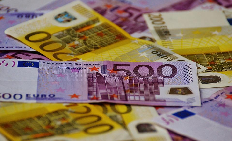 vysoké nominály eur